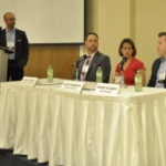 Advisor Discussion Panel at the 9th Annual Doing Well by Doing Conference ~ Burlington, ON ~ June 21, 2017 -- L-R: Panel Moderator Aneil Gokhale, Toronto Foundation; Mark Chabot, RBC DS; Elkie Rubach, Rubach Wealth; David O'Leary, Kind Wealth