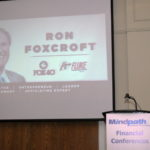 Ron Foxcroft, CEO, Fox40 Intn'l Fluke Transport presents at the 9th Annual Doing Well by Doing Good Advisor Philanthropy Conference ~ Burlington, ON, June 21, 2017